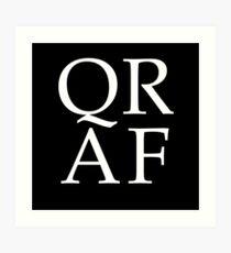 QRAF Art Print