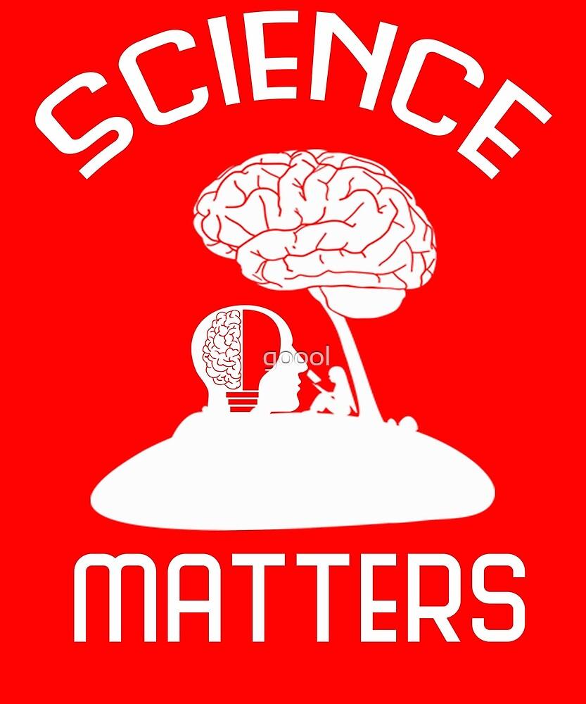 Neil deGrasse Tyson Science Matters T-shirt by goool