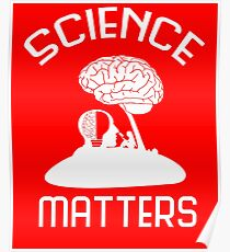 Neil deGrasse Tyson Science Matters T-shirt Poster