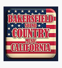 Bakersfield  Sound Country Music California  Photographic Print