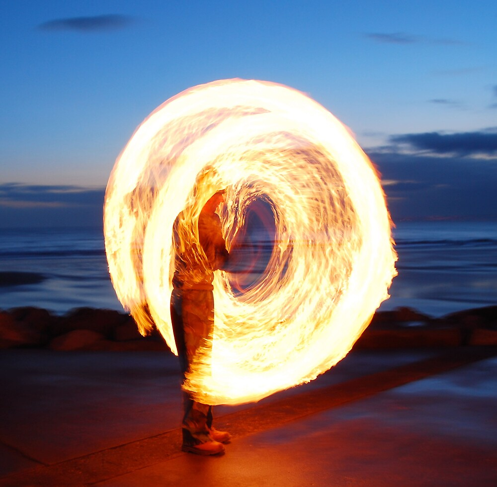 hot heat , fire poi  by cool3water