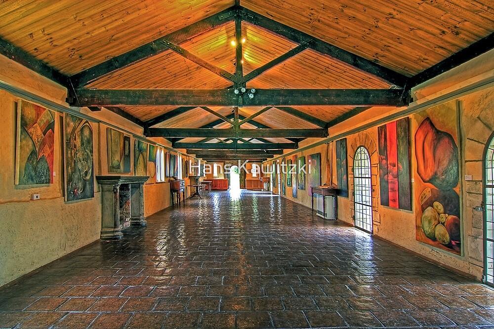 1298 The long Gallery  by Hans Kawitzki