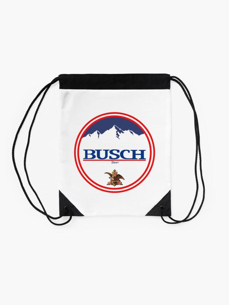 Alternative Ansicht von Buschlicht, Buschlicht, Busch, Bier, Getränk, Berg, Kneipe, Logo, Symbol. Turnbeutel