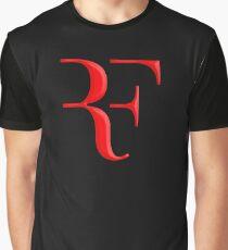 rf, roger federer, roger, federer, tennis, wimbledon, gras, turnier, ball, legende, sport, australien, nadal, netz, cool, logo, perfekt. Grafik T-Shirt