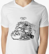 397 Horse Men's V-Neck T-Shirt