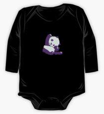 Kawaii purple pandas One Piece - Long Sleeve