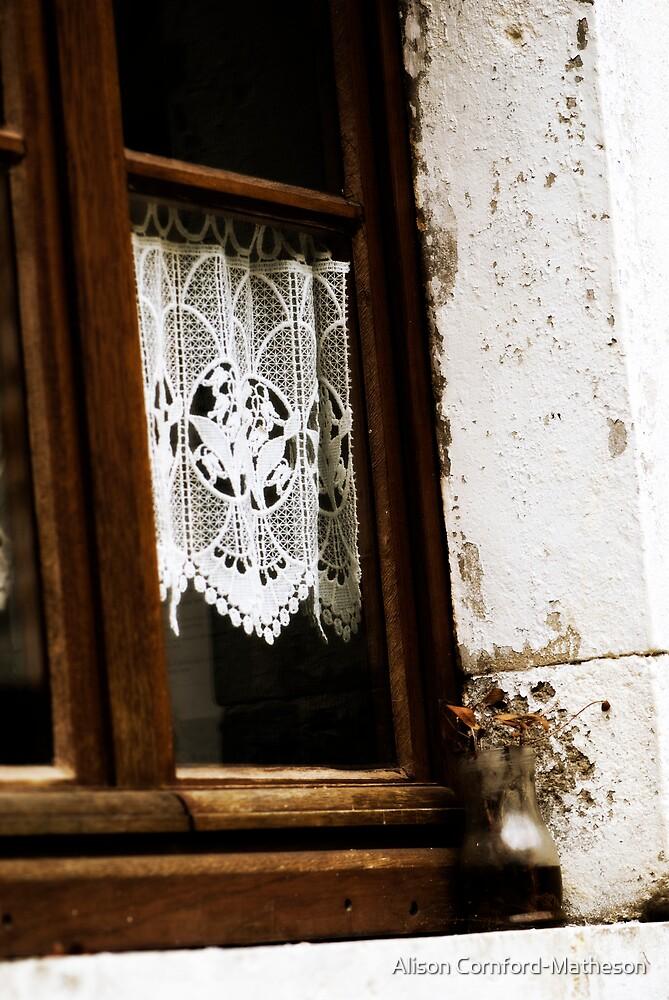 Lace Curtain by Alison Cornford-Matheson