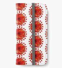 Poppy Field Mandala iPhone Wallet/Case/Skin
