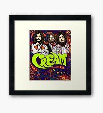 Cream Band, Clapton Framed Print