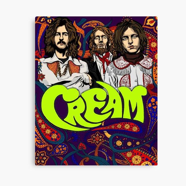 Cream Band, Clapton Canvas Print