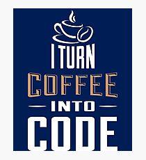 Programmer Shirt Photographic Print