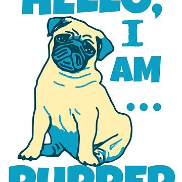 Hello, I am pupper - pug by FandomizedRose