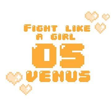 Fight Like A Girl - Venus by OkayDesigns