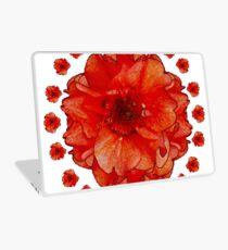 Poppy Field Mandala Laptop Skin