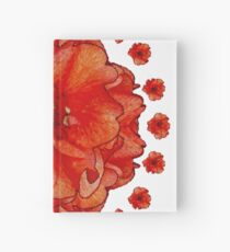 Poppy Field Mandala Hardcover Journal