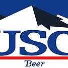 busch, buschlight, bier, getränk, dünn, berg. von komank83