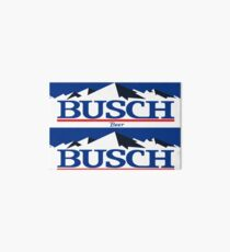 busch, buschlight, bier, getränk, dünn, berg. Galeriedruck