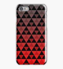 Tri-Pattern (Red Gradient) iPhone Case/Skin