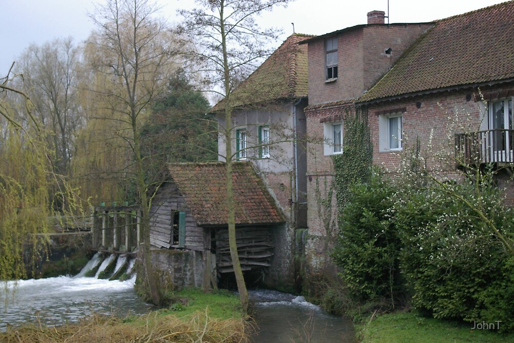 French Water Mill 2 by JohnT