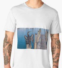Water bird - Dart  Men's Premium T-Shirt