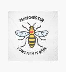 Manchester Bee. Long may it rain Scarf