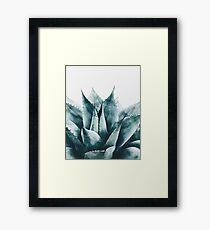 Plant print, Cactus print, Succulent, Scandinavian print, Trendy print, Styled, Pillow, Modern art, Wall art, Print, Minimalistic, Modern Framed Print