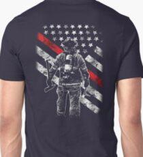 Firefighter Shirt Cheap - Firefighter Exclusive Thin Red Line Shirt T-Shirt