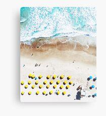 Beach Print, Beach Art Print, Beach Life, Modern Beach Poster, Sea Print, Coastal, Landscape Blue water, Sea print, Ocean print, Minimalist Metal Print