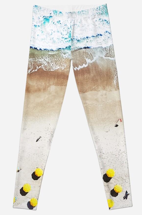 Legging «Impresión de playa, Lámina de playa, Vida de playa, Cartel ...