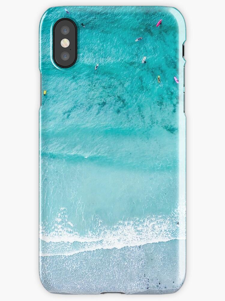 Vinilos y fundas para iPhone «Impresión de playa, Lámina de playa ...