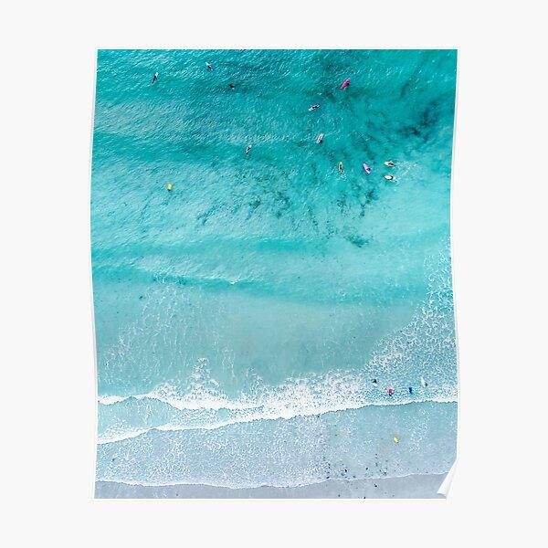 Beach Print, Beach Art Print, Beach Life, Modern Beach Poster, Sea Print, Coastal, Landscape Blue water, Sea print, Ocean print, Minimalist Poster