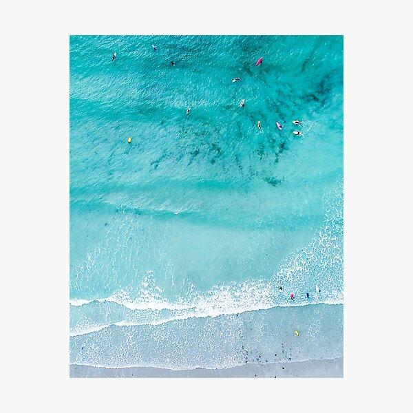 Beach Print, Beach Art Print, Beach Life, Modern Beach Poster, Sea Print, Coastal, Landscape Blue water, Sea print, Ocean print, Minimalist Photographic Print