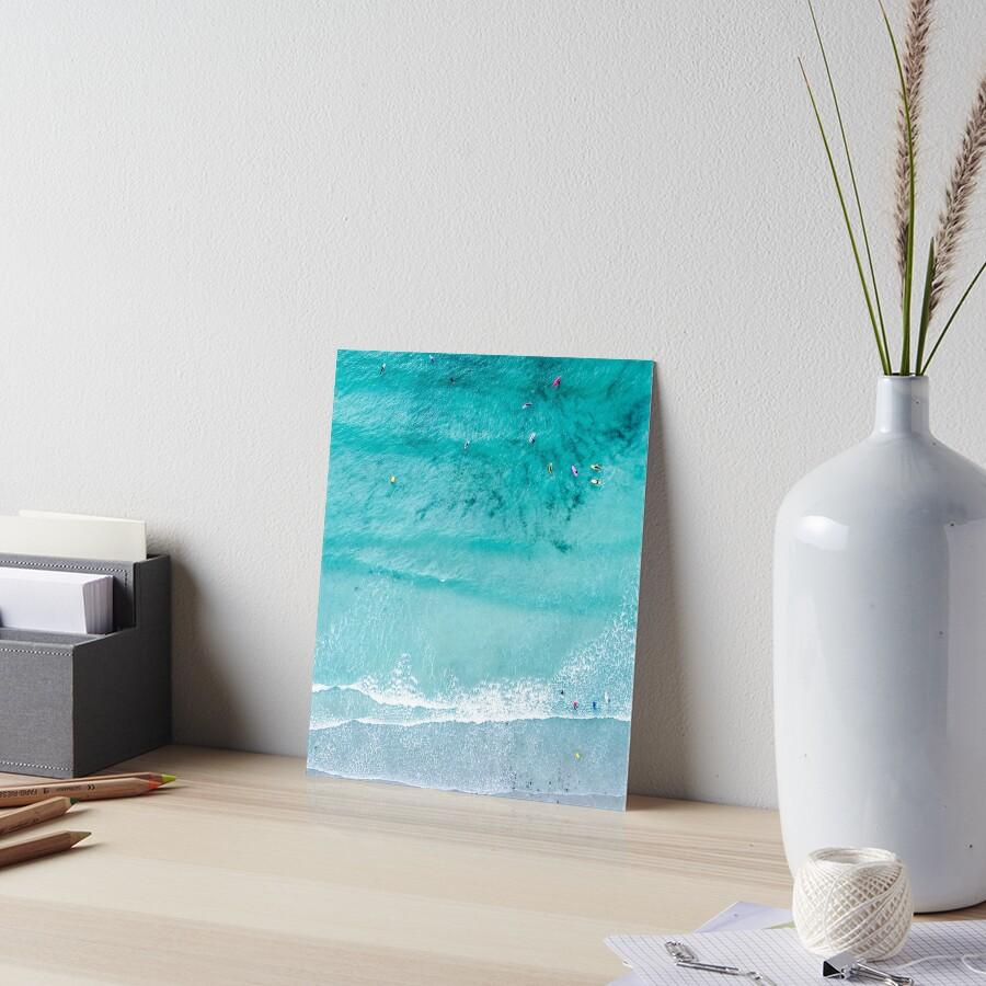 Láminas de exposición «Impresión de playa, Lámina de playa, Vida de ...