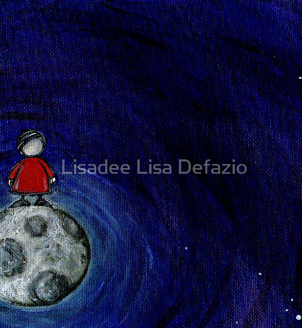 The View From the Moon For You. by Lisadee Lisa Defazio