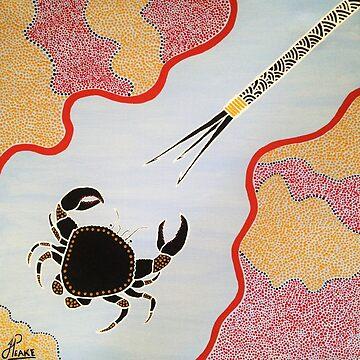 Mud Crab by PeakeCreations