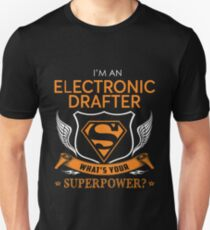 ELECTRONIC DRAFTER Unisex T-Shirt