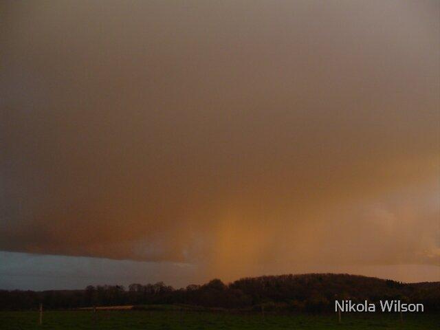 Orange rain. by Nikola Wilson