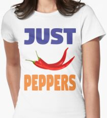 JUST PEPPERS Womens Fitted T-Shirt