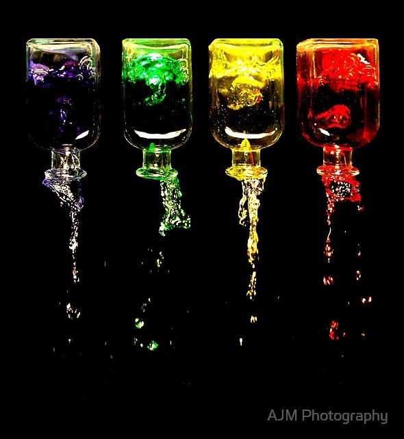 An Incident Involving Four Bottles... by AJM Photography