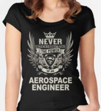AEROSPACE ENGINEER Women's Fitted Scoop T-Shirt