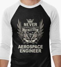 AEROSPACE ENGINEER Men's Baseball ¾ T-Shirt