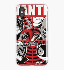 Phantom thief wanted poster iPhone Case/Skin