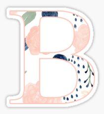 Floral Beta Sticker