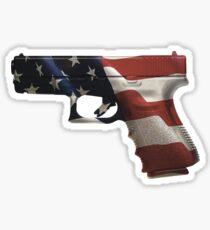 AMERICAN GUN Sticker