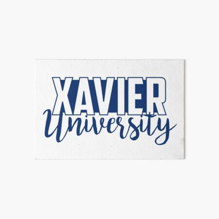 Xavier University inspired, Ohio Art Board Print