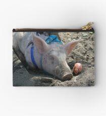 Sleeping pig. Studio Pouch
