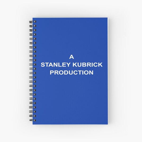 Une production Stanley Kubrick Cahier à spirale