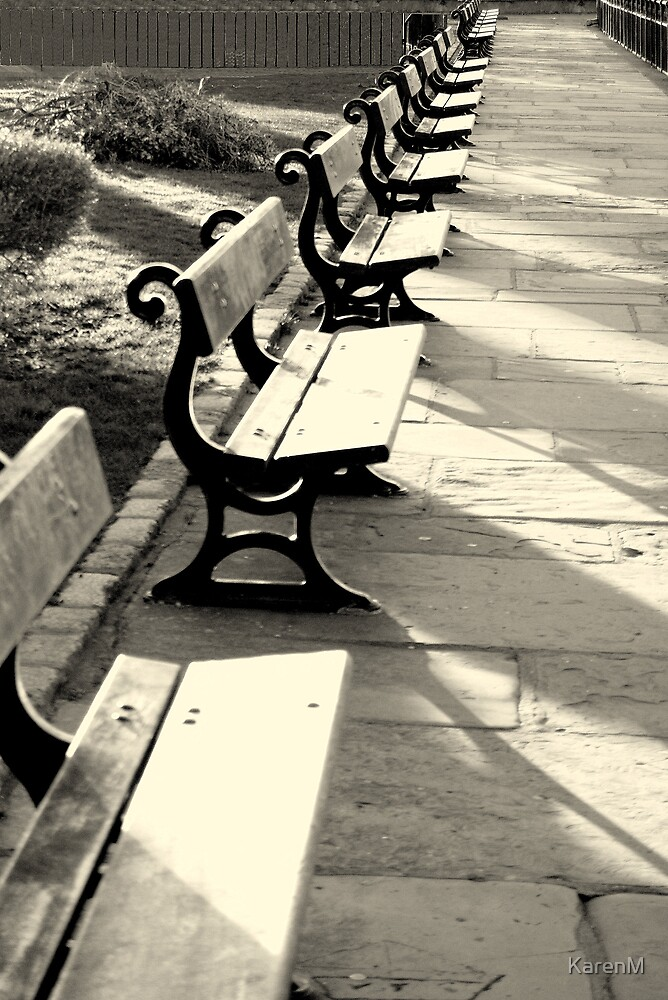 Seats and Shadows by KarenM