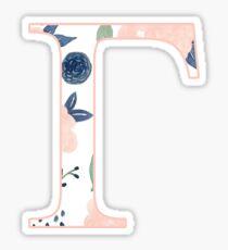 Floral Gamma Sticker