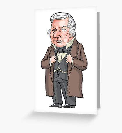 President Millard Fillmore Greeting Card